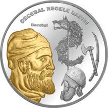 Decebal, regele Daciei, medalie, România, 0