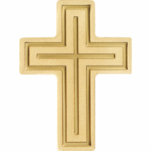 Cruce din aur de 999,9/1000, cu valoare nominală de 1 dolar!