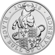Taurul ducelui Clarence, 5 lire, 2018, ambalat exclusiv