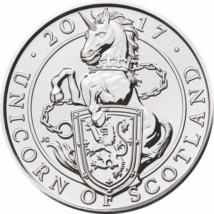 Unicornul Scoţiei, 5 lire, 2017, ambalat exclusiv