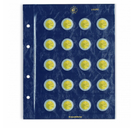 VISTA File de album pentru monede de 2 euro – 20 monede