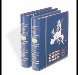 Album VISTA pentru seturi de monetărie euro (primele 12 state)