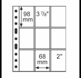 File de album GRANDE9 blister (coin card)