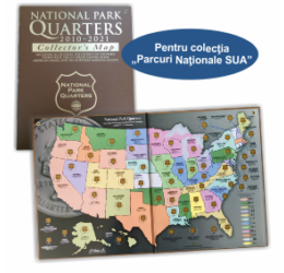 """Album pentru colecţia """"Parcuri Naţionale SUA"""""""