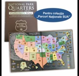 Parcuri Naţionale SUA, mapă SUA