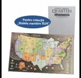 """Album pentru colecţia """"Statele membre SUA"""""""
