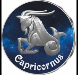 Capricorn, medalie zodiac, ambalată exclusiv