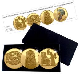 EGP/ Agrafa de aur, proof, pl.cu aur