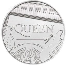 Queen, de 50 de ani, 5 lire, Marea Britanie, 2020