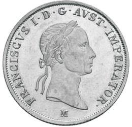 20 creiţari,Francisc I,Ag,1831-1835 Imperiul Habsburgic