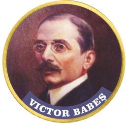Victor Babeş, 50 cenţi, Uniunea Europeană, din 2009
