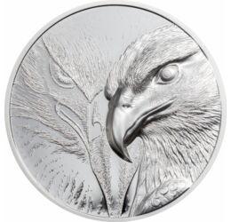 Vulturul maiestuos - Noutate mondială!, 500 togrog, argint, Mongolia, 2020