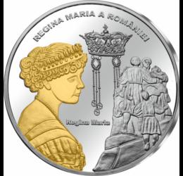 Regina Maria pl. cu aur piese de colecţie