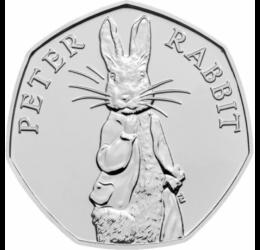 Peter Iepuraşul, 50 pence, Marea Britanie, 2019