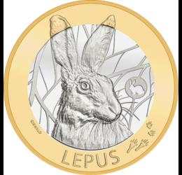 Iepurele, simbol al primăverii, 10 franci, Elveţia, 2020