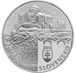 Castelul Trenčín, 20 euro, argint, Slovacia, 2012