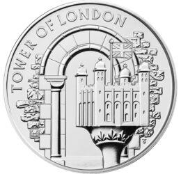 Turnul Londrei, 5 lire, Marea Britanie, 2020