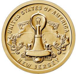 Becul, un adevărat miracol, Inovatori americani - New Jersey, 1 dolar, SUA, 2019