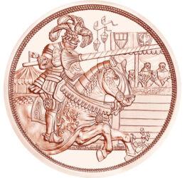 Idealul cavaleresc, 10 euro, Austria, 2019
