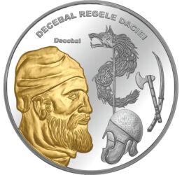 Decebal pl. cu aur piese de colecţie