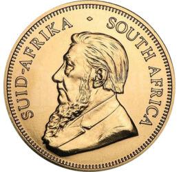 // krugerrand, aur de 916/1000, Republica Africa de Sud, 2021 // - Monetăria de Stat a Africii de Sud emite şi ea în fiecare an monede de investiţie. Aşa-numita Krugerrand este o monedă de aur populară şi căutată în cercul celor care preferă să-şi investe