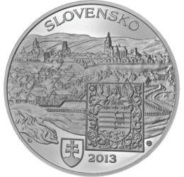 20 euro, Caşovia, Ag, bu, 2013 Slovacia