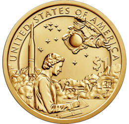1 dolar, Native-prog.spaţ.U.S.,2019 SUA