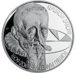200 coroane, Legile Kepler,Ag,2009 Cehia