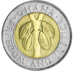 Ghana, ţara cacaoului, 100 cedi, Ghana, 1991-1999