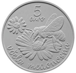 Albinele melifere, 5 euro, Slovacia, 2021
