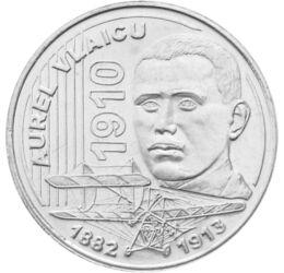Pionier al aviaţiei române, 50 bani, România, 2010