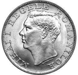 500 lei, Regele Mihai I, argint,1944, România