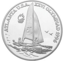 100 lei, Olimpiadă Yachting,Ag,1996, România