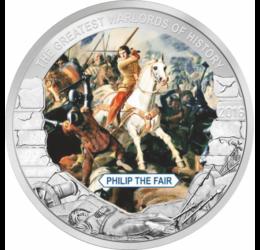 Filip al IV-lea cel Frumos, regele Franţei, 1 dolar,  Palau, 2016