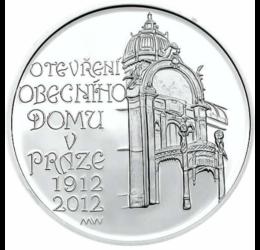 Casa Reprezentativă principală din Praga, argint de 925/1000, Cehia, 2012