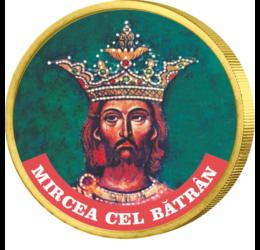 Mircea cel Bătrân, domnul Ţării Româneşti, pe monedă unică