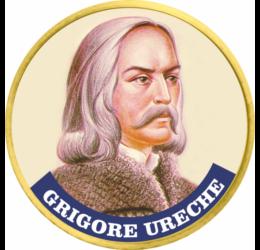 Grigore Ureche, primul cronicar moldovean, pe monedă unică