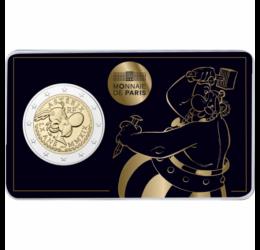 Obelix, războinicul gal, 2 EUR, Franţa, 2019