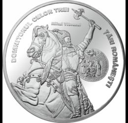medalie placată cu argint, Mihai Viteazul, calitate proof, ,