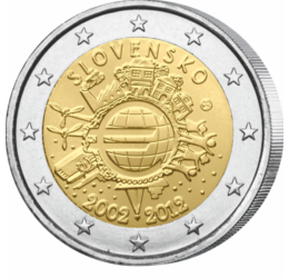 2 euro, Jubileu, 2012 Slovacia