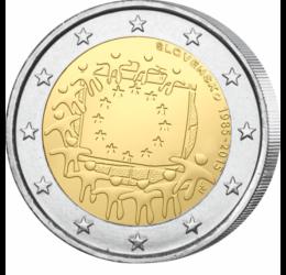 Steagul Uniunii Europene are 30 de ani, 2 EUR, Slovacia, 2015
