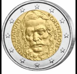 200 de ani de la naşterea lui Ľudovít Štúr, 2 EUR, Slovacia, 2015