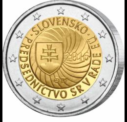 Prima preşedinţie slovacă a Consiliului UE, 2 EUR, Slovacia, 2016