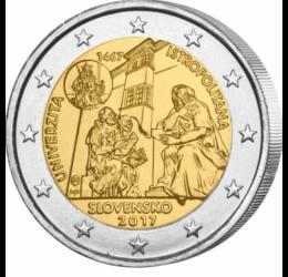 Universitatea Istropolitana, 550 de ani, 2 EUR, Slovacia, 2017