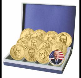 Dolari prezidenţiali - cei mai renumiţi preşedinţi SUA - prima monedă la preţ favorabil