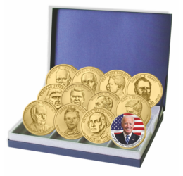 1 dolar, Joe Biden piese de colecţie