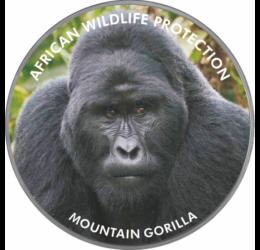 Gorila de munte, 2000 şilingi, Uganda, 2006