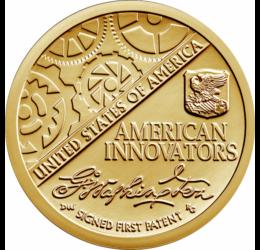 Inovatori americani - Monedă introductivă, 1 dolar, 2018