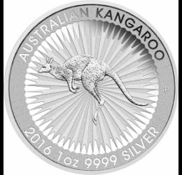 Cangur din argint, 1 dolar, 1 uncie argint pur, Australia