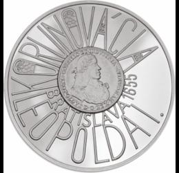 Încoronare în Bratislava,200 coroane, argint de 900/1000, Slovacia, 2005